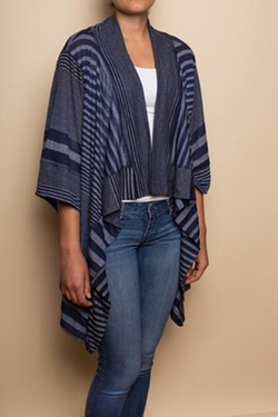Nomadic Traders - Blue Striped Kimono