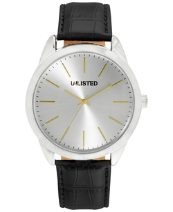Unlisted - Synthetic Leather Strap Watch