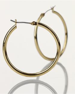 Ralph Lauren - Small Gold Hoop Earrings