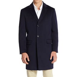 Saks Fifth Avenue  - Classic-Fit Wool Coat