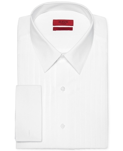 Alfani - Fitted French Cuff Tuxedo Shirt