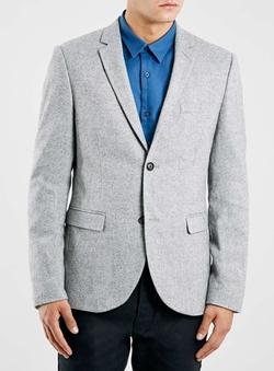 Topman - Wool Blend Blazer