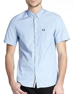 Fred Perry  - End On End Sportshirt