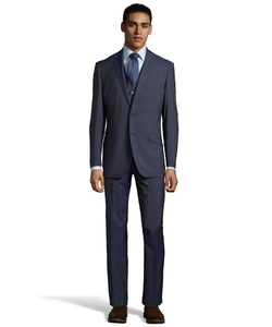 English Laundry - Wool Peak Lapel Three Piece Suit