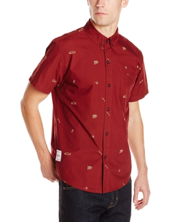 Neff - Trouty Short Sleeve Button Up Shirt