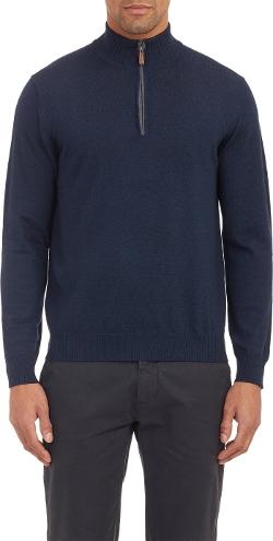 Piattelli  - Half-Zip Pullover Sweater