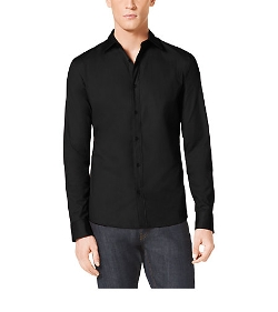 Michael Kors - Tailored-Fit Stretch-Cotton Shirt