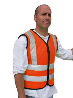 Cool Medics  - M1674 Reflective Chevron Back Vest
