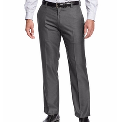 Kenneth Cole Reaction - Slim-Fit Sharkskin Dress Pants