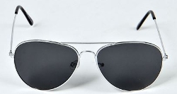 BooHoo - Aviators With Black Lens Sunglasses