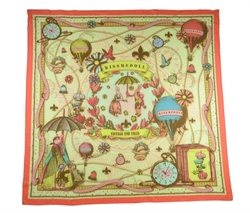Kiss Me Doll - Fairytail Pattern Silk Scarf