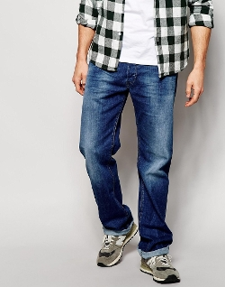 Diesel Jeans - Larkee Relaxed 836X Loose Fit  Jeans