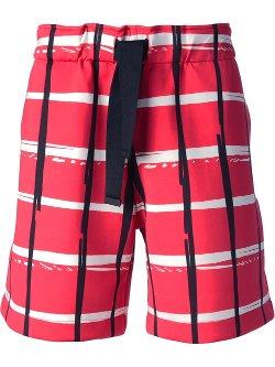 Kenzo  - Checked Shorts