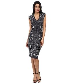Adrianna Papell - Print Sleeveless Dress
