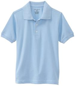 Eddie Bauer - Boys 2-7 Short Sleeve Pique Polo Shirt