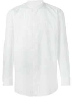 Issey Miyake Men   - Mandarin Collar Shirt