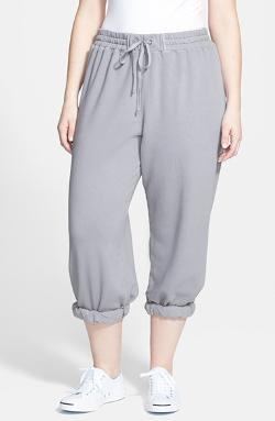 Allen Allen  - Cropped Sweatpants