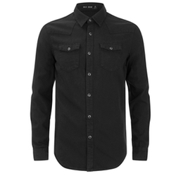 Blk Dnm - Fitted Denim Shirt