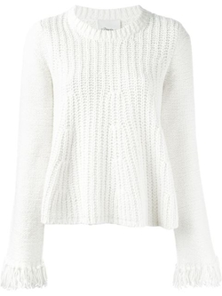 3.1 Phillip Lim - Fringed Cuff Jumper