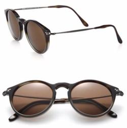 Kyme  - Miki Light Round Mirror Sunglasses