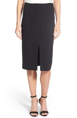 Halogen  - Front Slit Pencil Skirt