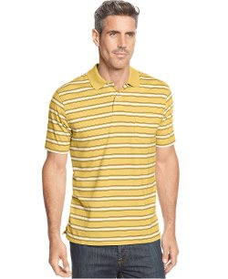 John Ashford  - Striped Polo