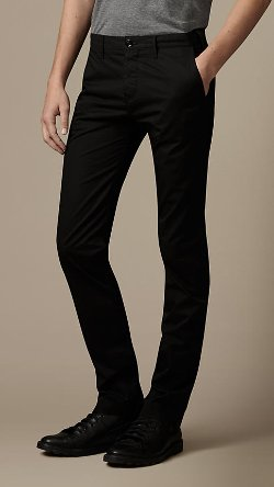 Burberry - Slim Fit Cotton Chinos