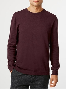 Topman - Marl Crew Neck Sweater