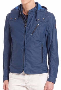 Belstaff  - Hooded Racer Jacket