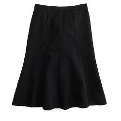 J.CREW - Seamed Matelasse Skirt