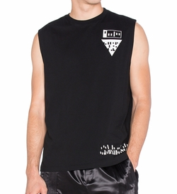 T By Alexander Wang - Etching Scanner Tank Top