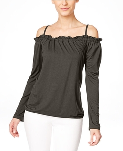 INC International Concepts - Off-The-Shoulder Peasant Blouse