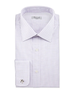 Charvet - Check French-Cuff Dress Shirt