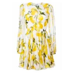 Dolce & Gabbana - Lemon Print Dress