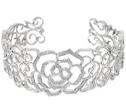 QVC - Diamond Cuff Bracelet