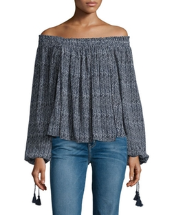 Apiece Apart - Glorieta Off-The-Shoulder Top