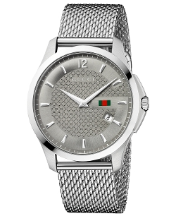 Gucci - Swiss G Timeless Mesh Watch
