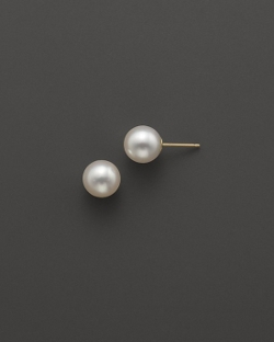 Akoya - Cultured Pearl Stud Earrings