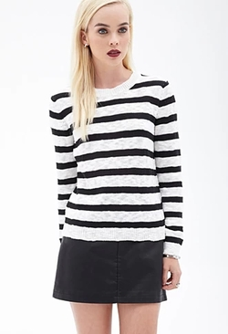 Forever 21 - Striped Knit Sweater