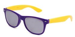Kyra Retro Wayfarer Styles - Classic Blue Brothers Wayfarer Sunglasses