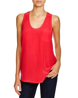 Joie  - Alicia Silk Racerback Tank Top