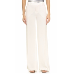 Nili Lotan - Wide Leg Soft Trousers