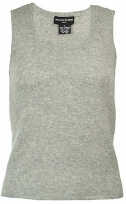Sutton Studio - Cashmere Basic Shell Tank Top