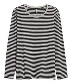 H&M - Long-Sleeved T-shirt