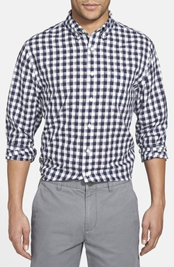 Grayers  - Trim Fit Gingham Poplin Sport Shirt