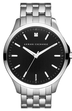 AX Armani Exchange  - Diamond Marker Bracelet Watch