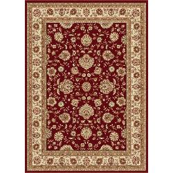 Tayse Rugs - Elegance Red Floral Rug