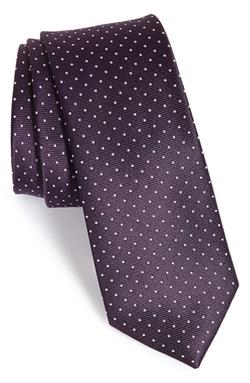 The Tie Bar  - Dot Silk Tie