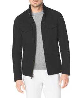 Michael Kors  - Tech Fabric Zip Jacket