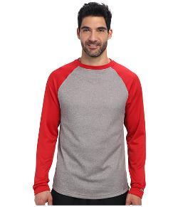Reebok  - Baseball Long Sleeve Pullover Top
